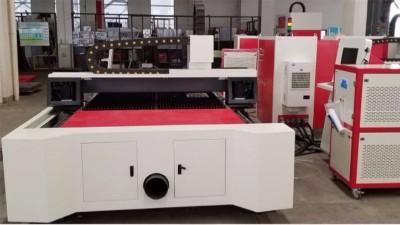 東元電機通用型JSDE2交流伺服系統應用在激光切割機上